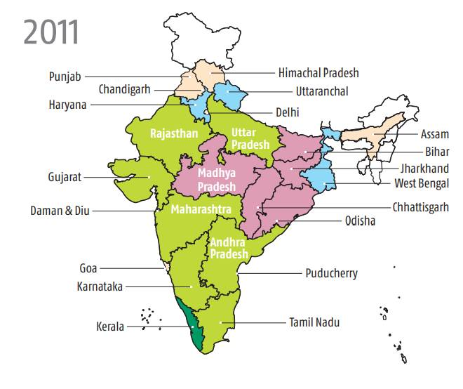 Rural part of poor states are below-par performers
