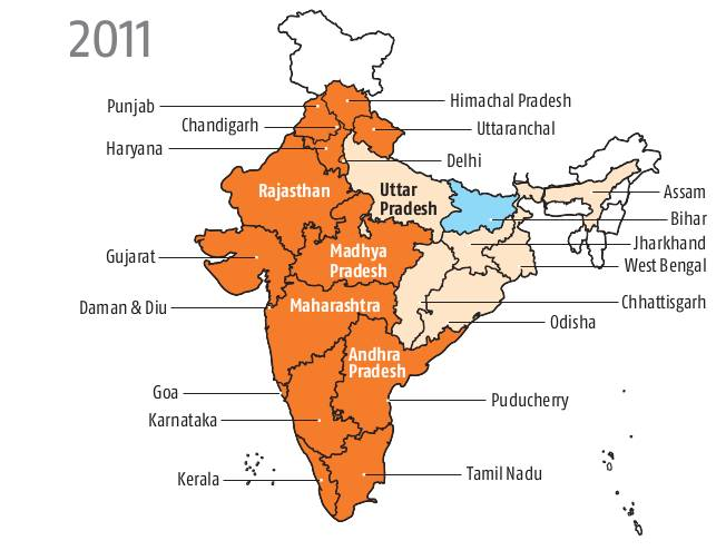 Urban India moving towards Universal access to Power